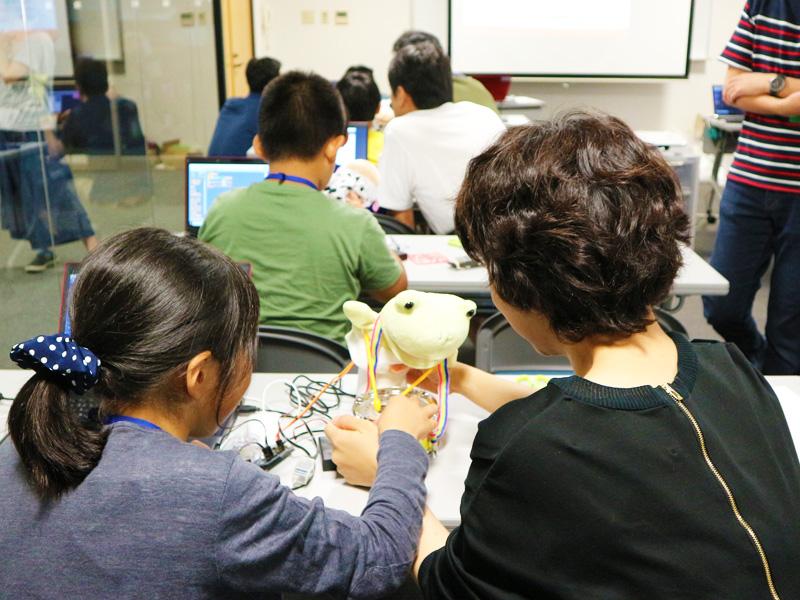 おもちゃハック!金沢市キッズプログラミング教室