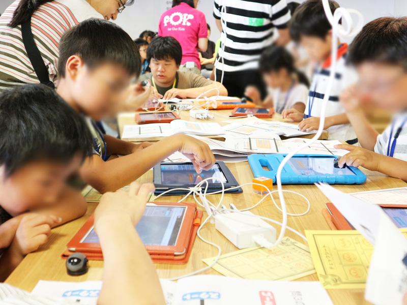 micro:bit金沢市キッズプログラミング教室