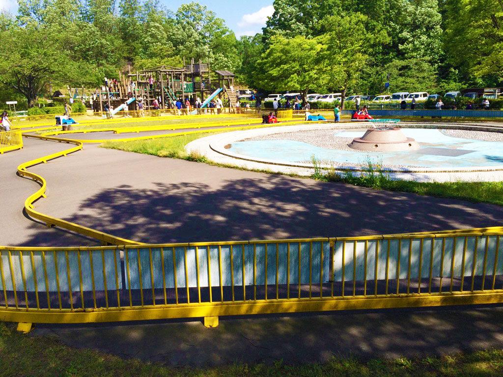 辰口丘陵公園のゴーカート