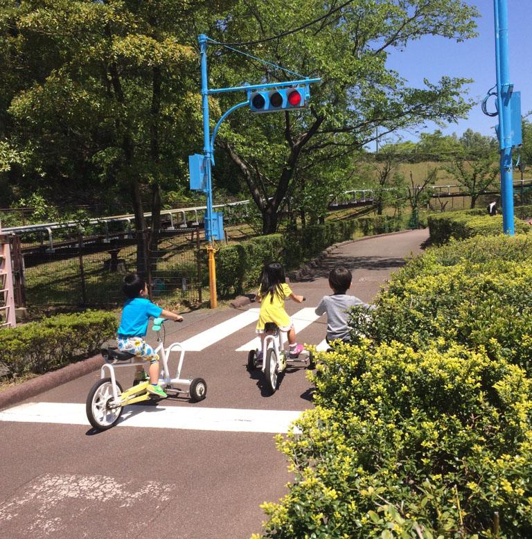 辰口丘陵公園のレンタサイクル