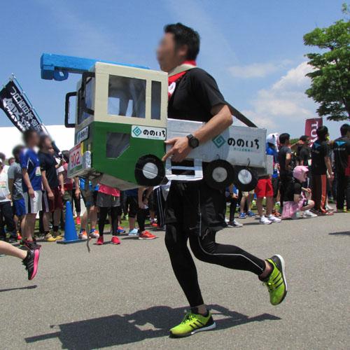 金沢城リレーマラソントラックコスプレ