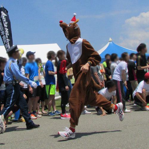 金沢城リレーマラソントナカイコスプレ