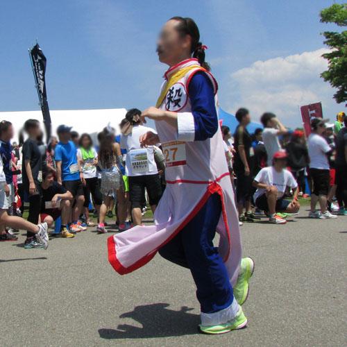 金沢城リレーマラソンタオパイパイコスプレ