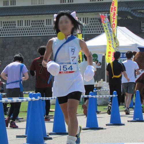 金沢城リレーマラソンタマコスプレ