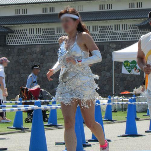 金沢城リレーマラソンピンクレディーコスプレ