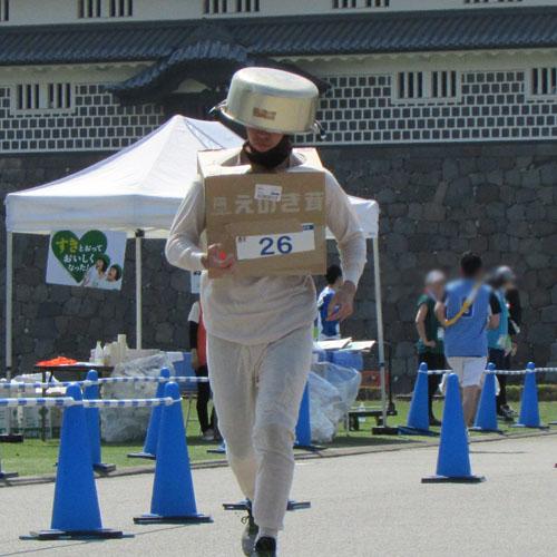 金沢城リレーマラソンなべ?コスプレ