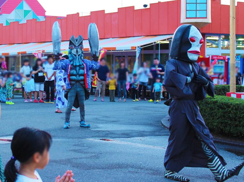 手取フィッシュランドウルトラ怪獣盆踊り