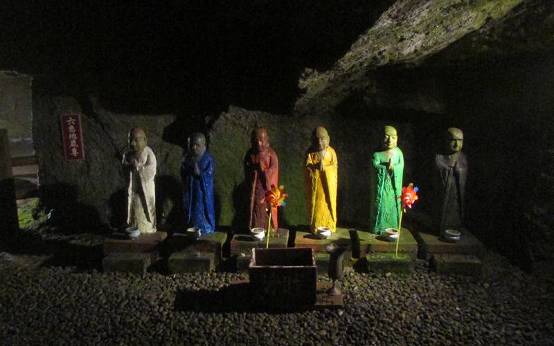 ハニベ巌窟院の六地蔵