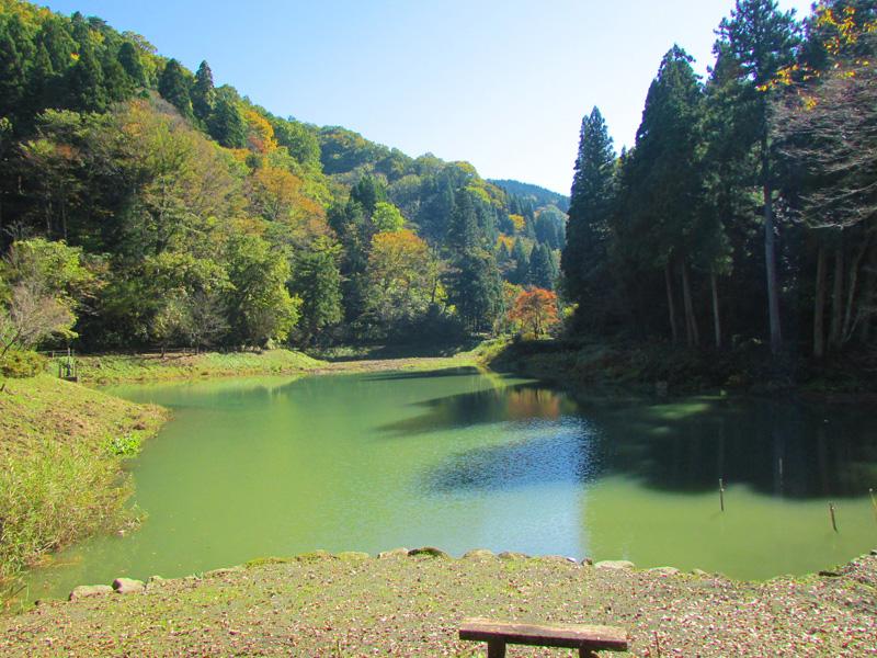 金沢湯涌温泉玉泉湖