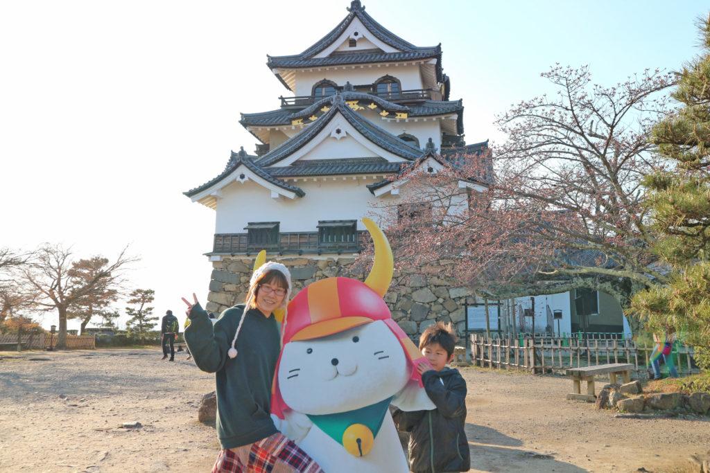 彦根城とヒコニャン